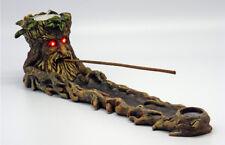 TREE MAN/GREEN MAN Incense & Tealight Burner LED Eyes - Free HEM Incense!