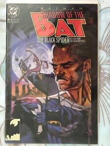 Batman Shadow of the Bat #5 DC Comics October 1992 The Black Spider FP