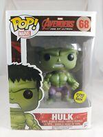 Marvel Funko Pop - Hulk Glow (GITD) - Avengers Age of Ultron - No. 68