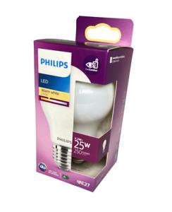 2x Philips E27 LED Lampe Birne Glühbirne 2,2Watt wie 25Watt Warmweiß 2700K