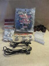 Lot of Lemax Christmas Village Accessories-Trees, Roads, Lights, Figures, Fences