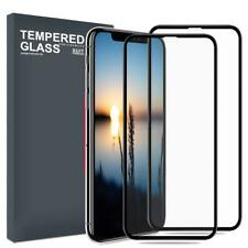 For Apple iPhone Max XS Full Screen Protector 3D Curved Tempered Glass Film 2Pc