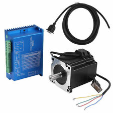 HSS86 Hybrid Servo Driver + NEMA34 Closed-Loop Stepper Servomotor 4N.M 0~3000RPM