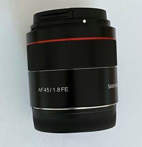 Samyang AF 45mm f1.8 FE lens for Sony