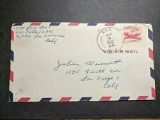 USS DELTA AR-9 Naval Cover 1952 Korean War Sailor's Mail w/ note