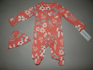 NWT, Baby girl clothes, Newborn, Carter's 2 piece set