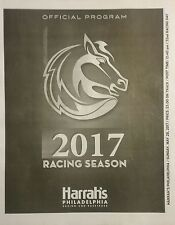 Harrahs Philadelphia Racetrack Stakes Program - May 28 - Harness Horse Racing