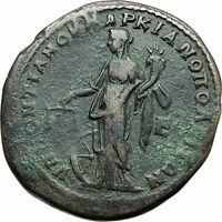 MACRINUS & DIADUMENIAN Authentic Ancient 217AD Roman Coin w NEMESIS i79044