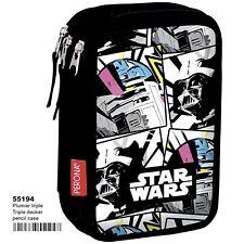 STAR WARS R2-D2 Plumier triple - estuche 45 piezas/Pencil case