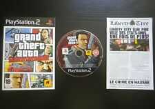 JEU Sony PLAYSTATION 2 PS2 Grand Theft Auto LIBERTY CITY STORIES (GTA avec PLAN)
