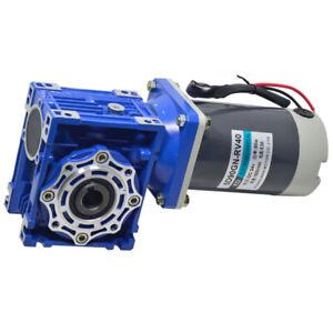 5D90GN-RV30/RV40 DC 12V/24V 90W Turbo Worm Geared Motor Self Locking 21-420RPM