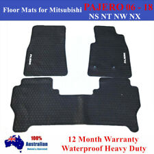 Heavy duty Floor Mats Tailored for Mitsubishi PAJERO NS NT NW NX 2006 - 2018