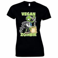 Halloween Costumes Women Scary Horror T-Shirt Vegan Zombie