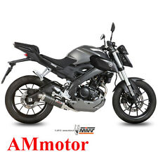 Scarico Completo Mivv Yamaha Mt-125 2016 16 Terminale Gp Carbonio Moto
