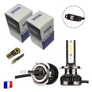 2 ampoules Vega® Q3 H7 Full Leds COB 360° 6000 lumens 12V 24V