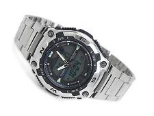 Casio Analog-Digital Display Stainless Steel Men's Watch AQW-100D-1A