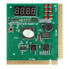 Diagnostic PCI 4-Digit Card PC Motherboard Post Checker Tester Analyzer F5B M1L4