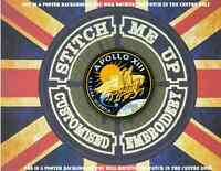"""MOVIE - AIRSOFT - COSPLAY THERMAL IMAGE PATCH """"APOLLO 13 """" MISSION PATCH"""
