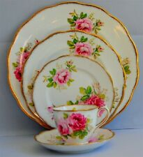 1-Royal Albert American Beauty 5 Piece Place Setting ( 10 Available)