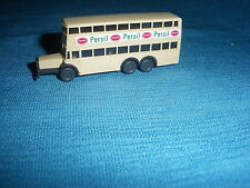 696A Wiking 3730 Bus Büssing D38 Berlin Pub Persil Ho 1/87 Plastique