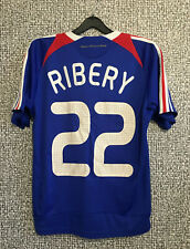 Adidas FRANCE Soccer National Team #22 Ribery Football Jersey Shirt Youth Size L