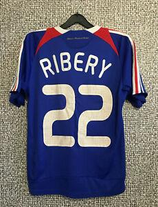 Adidas FRANCE Soccer National Team #22 Ribery Football Jersey Shirt Youth Size L