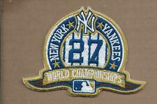 NEW 3 X 4 INCH NEW YORK YANKEES 27X CHAMPIONS IRON ON PATCH FREE SHIPPING P1