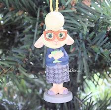 Disney Zootopia Movie Bellwether Sheep Custom Christmas Holiday Ornament Pvc New