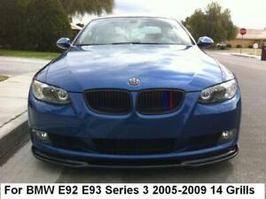 BizTech® Clip In Grill inserts Stripes For BMW 3 Series E92 E93 05-09 M Sport