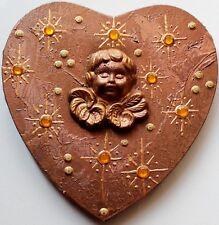 """Geschenk Muttertag Valentinstag Geburtstag Acrylbild Engel Putte """"Sternenengel"""""""