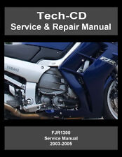 Yamaha FJR1300 Service & Repair Manual FJR 1300 2003 2004 2005