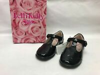 LELLI KELLY  Perrie Black Patent Girl's Shoes Size UK 8/9/10 EU 26/27/28