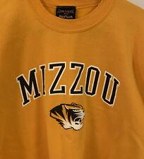 Mizzou Yellow Sweatshirt XL