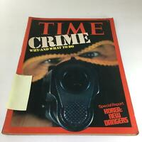 Time Magazine: June 30 1975 - Crime: Why=And What To Do & Korea: New Dangers