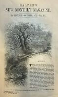 1877 Mytown new England Life and Customs  illustrated