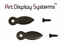 Ads 1 Inch Flat Blk Turnbutton - 100 # 4-1/2� Black Screws - 100 Pack
