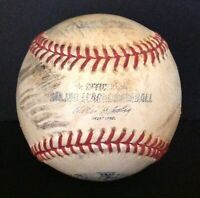Rawlings 2009 Yankee Stadium Inagural Season Official Baseball Used MLB