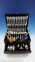 Grande Baroque by Wallace Sterling Silver Flatware Set For 12 Service 96 Pieces