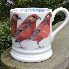EMMA BRIDGEWATER rare . Crossbill . Sample . Birds . 1/2 pint MUG