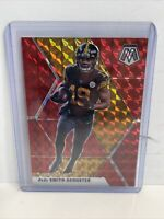 2020 Panini Mosaic Football Juju Smith-Schuster Red Mosaic Hobby #169 Steelers