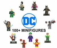 LEGO DC Minifigures Marvel DC Batman Superman Justice League Joker Flash Lantern