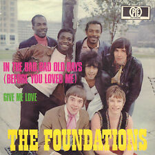 """FOUNDATIONS – In The Bad, Bad Old Days (1969 VINYL SINGLE 7"""" 45 GERMANY)"""