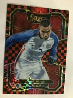 BOBBY WOOD 2017 18 PANINI SELECT PRIZM REFRACTOR TERRACE CHECKERBOARD USA #17