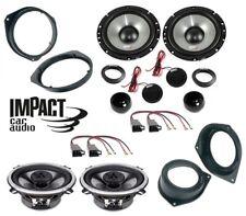 IMPACT Kit 6 casse per GRANDE PUNTO EVO 165mm + 13cm con ADATTATORI PHONOCAR