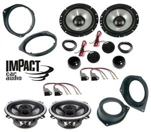 IMPACT Kit 6 casse per FIAT PANDA 2012> 165mm + 13cm con ADATTATORI PHONOCAR