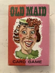 Vintage COMPLETE Whitman OLD MAID Card Game