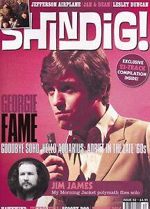 SHINDIG! ISSUE #62 DEC 2016 GEORGIE FAME JEFFERSON AIRPLANE JETHRO TULL