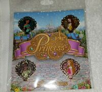 Disney Pins Princess Belle Aurora Tiana Jasmin Booster Set Trading Pins Pack