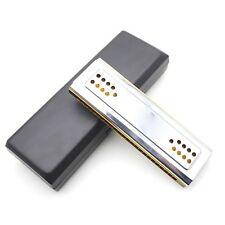 Andoer 2-in-1 Tremolo Harmonica Mouth Organ Dural Key Of C & G 24 Double Holes