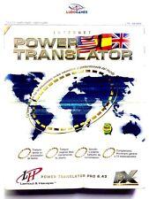 Power Translator Caja Grande 1º Edicion PC Nuevo New Sealed Precintado Retro SPA